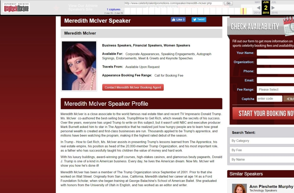 Archived 2013 McIver Profile